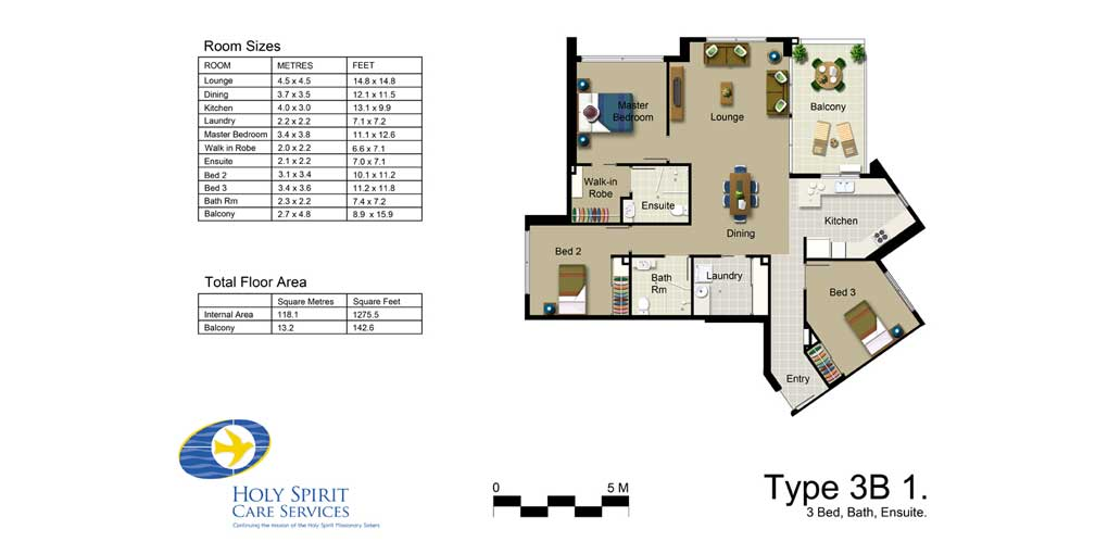 Rendered floor plans and elevations for architectural design